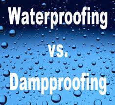 damp proofing-waterproofing